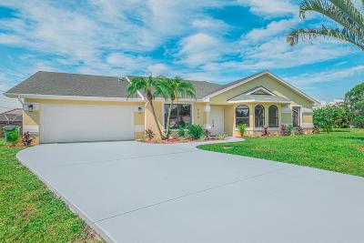 Port Saint Lucie Single Family Home For Sale: 609 SE Beth Court
