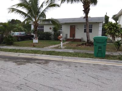 West Palm Beach Single Family Home For Sale: 1425 W 30th Street