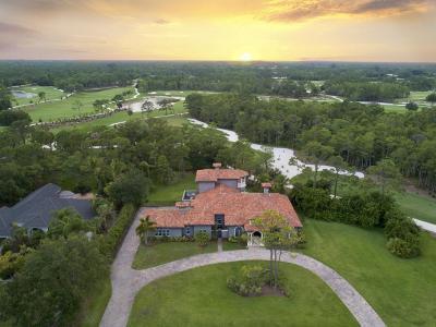Jupiter Single Family Home For Sale: 18806 SE Old Trail Drive