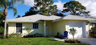 Jupiter Single Family Home For Sale: 6821 4th Street