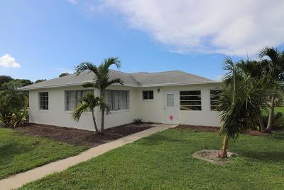 Boynton Beach Single Family Home For Sale: 131 W Ocean Avenue
