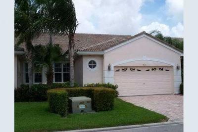 Lake Worth Single Family Home For Sale: 4630 Carlton Golf Drive
