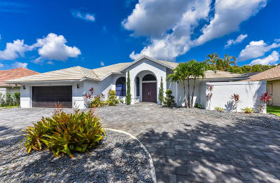 Boca Raton Single Family Home For Sale: 10791 Avenida Santa Ana