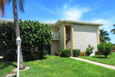 Boynton Beach Rental Contingent: 95 North Boulevard #2-C