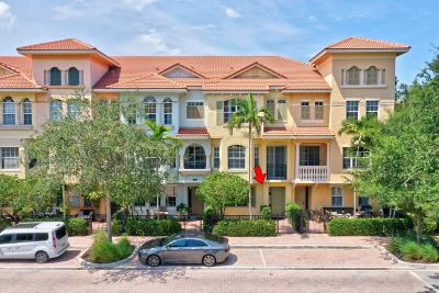 Palm Beach Gardens Townhouse For Sale: 2511 San Pietro Circle #206