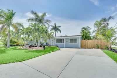 Boynton Beach Single Family Home For Sale: 346 SW 8th Avenue