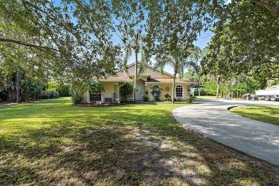 Jupiter Single Family Home For Sale: 13473 152nd Road