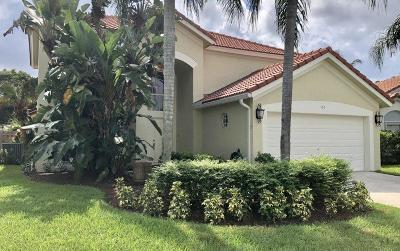 Jupiter Single Family Home For Sale: 163 St Michaels Court