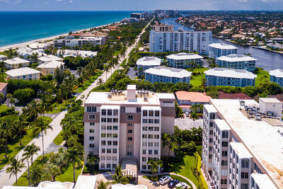 Delray Beach Condo For Sale: 2000 S Ocean Boulevard #408