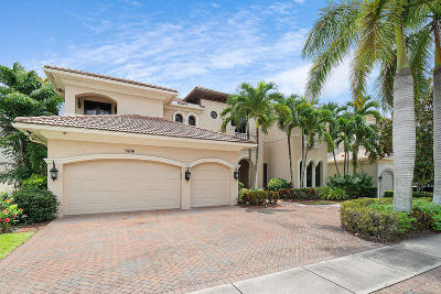Boca Raton Single Family Home For Sale: 9636 Bridgebrook Drive