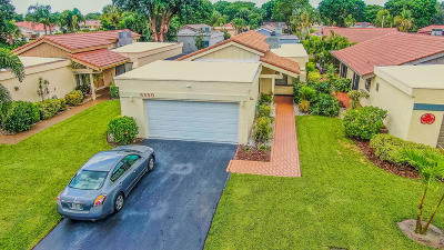 Boynton Beach Single Family Home For Sale: 5590 Piping Rock Drive