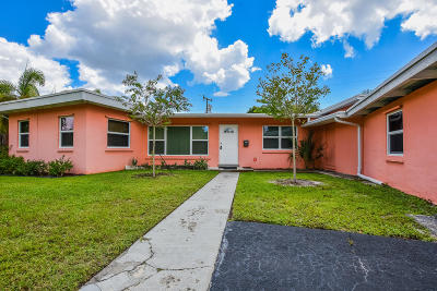 West Palm Beach Single Family Home For Sale: 3814 Paseo Navarra