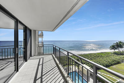 Highland Beach Condo For Sale: 3009 S Ocean Boulevard #503