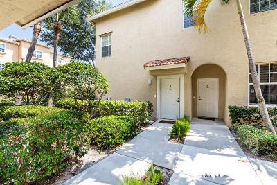 Tequesta Townhouse For Sale: 160 Village Boulevard #B