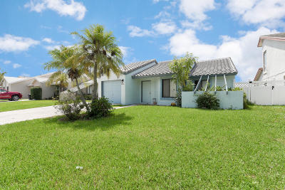 Lake Worth FL Single Family Home For Sale: $269,900