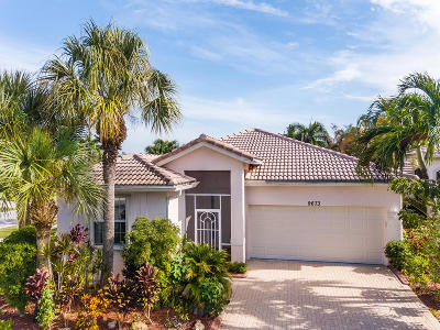 West Palm Beach Single Family Home For Sale: 9673 Great Egret Court
