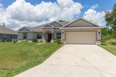 Port Saint Lucie Single Family Home For Sale: 4642 SW Masefield Street