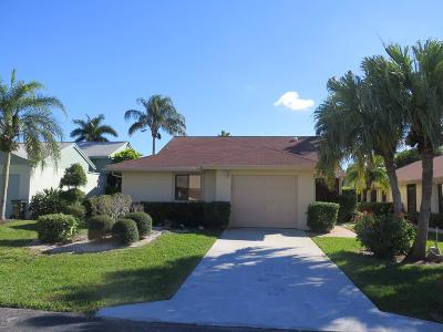 Delray Beach FL Single Family Home For Sale: $269,900