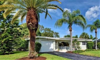 Boca Raton FL Single Family Home For Sale: $489,900