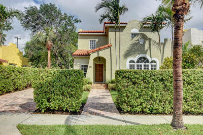 West Palm Beach Single Family Home For Sale: 609 Flamingo Drive