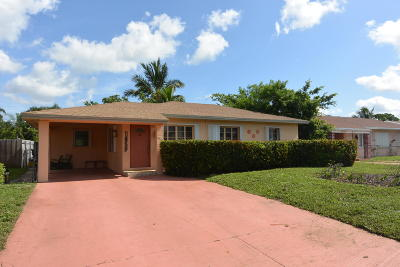 West Palm Beach Single Family Home For Sale: 1029 Macy Street