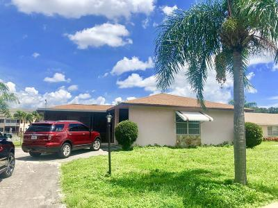 Lake Worth, Lakeworth Single Family Home For Sale: 2687 Northside Drive