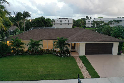 Singer Island Single Family Home For Sale: 1161 Singer Drive