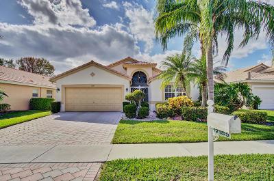 Boynton Beach Single Family Home For Sale: 12185 Castle Pines Road