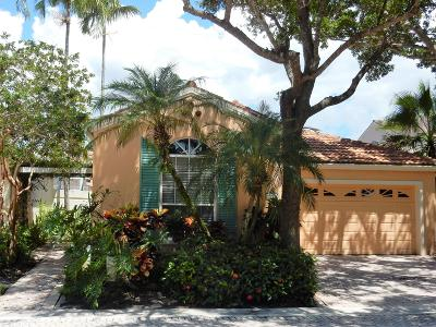 Palm Beach Gardens Single Family Home For Sale: 13 Via Del Corso
