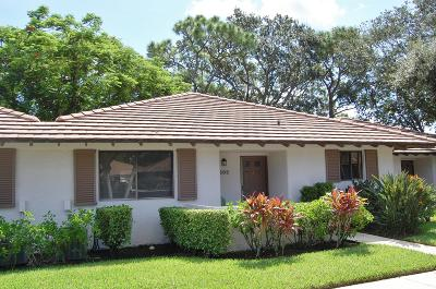 Palm Beach Gardens Single Family Home For Sale: 603 Club Drive #603