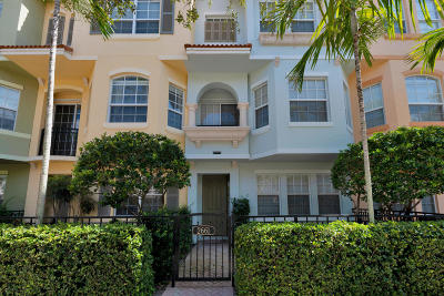 Palm Beach Gardens Townhouse For Sale: 2661 Ravella Lane