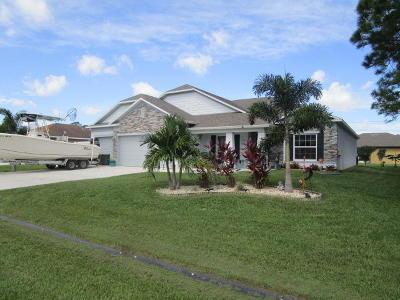 Port Saint Lucie Single Family Home For Sale: 1950 SW Logan Street