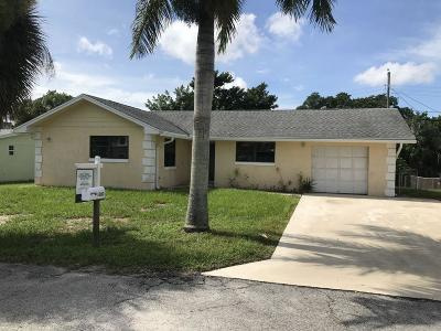 North Palm Beach Single Family Home For Sale: 1800 Len Drive