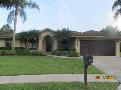Royal Palm Beach Single Family Home Contingent: 216 Park Road S Road