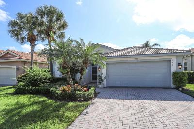 Lake Worth, Lakeworth Single Family Home For Sale: 7550 Pebble Shores Terrace