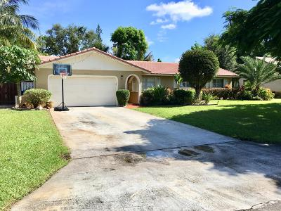 Delray Beach Single Family Home For Sale: 4609 Ellwood Drive