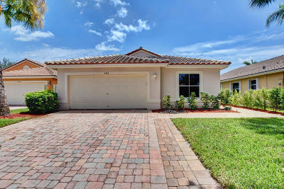 West Palm Beach Single Family Home For Sale: 4142 Onega Circle