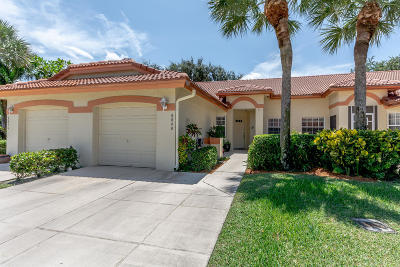 Delray Beach Single Family Home For Sale: 8040 Summer Shores Drive