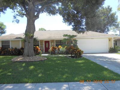Wellington Single Family Home For Sale: 14608 Paddock Drive