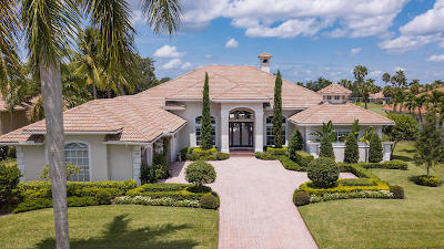 West Palm Beach Single Family Home For Sale: 10182 Heronwood Lane