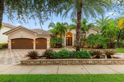 Boynton Beach Single Family Home For Sale: 8724 Baystone Cove