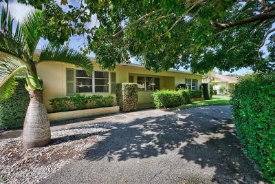 Tequesta Single Family Home For Sale: 319 Country Club Drive