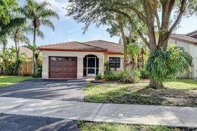 Coconut Creek Single Family Home For Sale: 4971 NW 55th Street