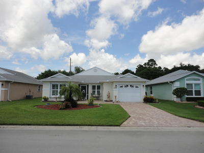 Fort Pierce Single Family Home For Sale: 6019 Alexandria Circle