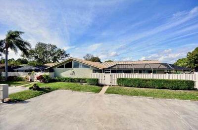 Palm Beach Gardens FL Single Family Home Contingent: $279,500