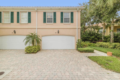 Tequesta Townhouse For Sale: 26 Oakleaf Court