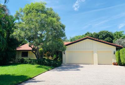 Delray Beach Single Family Home Contingent: 636 Lakewoode Circle E