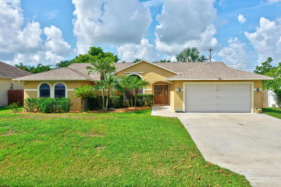 Single Family Home For Sale: 2863 SE Pace Drive