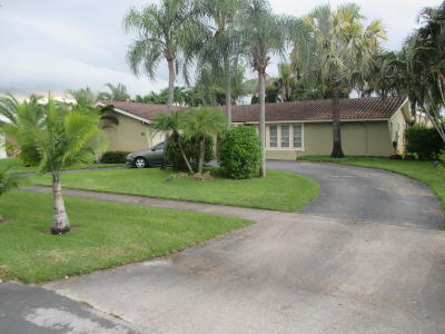 West Palm Beach Single Family Home For Sale: 401 S Sequoia Drive