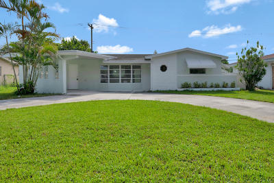 Palm Beach Gardens Single Family Home For Sale: 9544 Military Trail